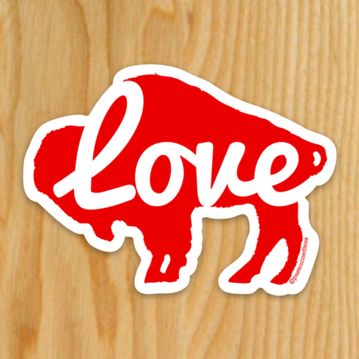 Buffalo Love Sticker