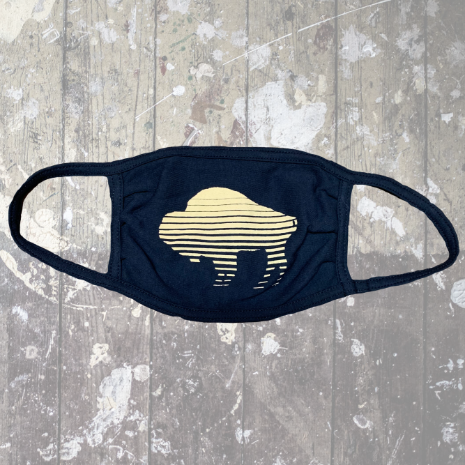 Shutter Buffalo Navy Mask-$6.50