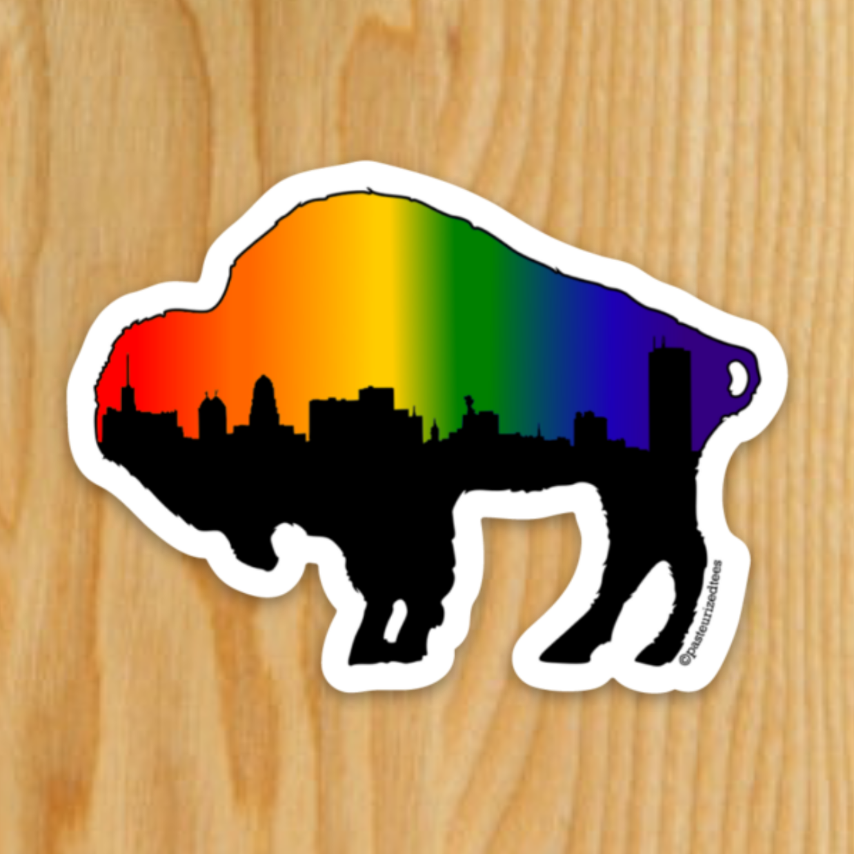 Pride Skyline Sticker